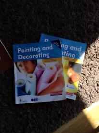 Painting and decorating books