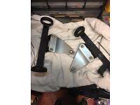 suzuki bandit 600 headlight brackets