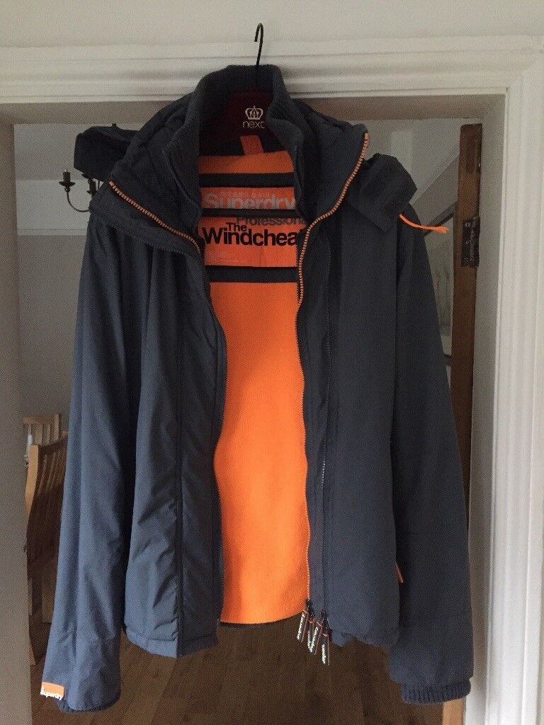 Men's Superdry The Wincheater jacket excellent condition
