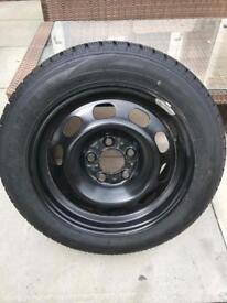 Winter Wheels - 4 Tyres on Rims