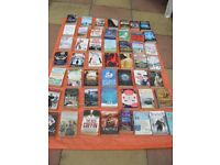 OVER £400 POUNDS WORTH OF TOP QUALITY PAPER BACK BOOKS & AUTHORS (60 BOOKS)