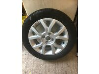 Spare wheel and tyre for VW UP