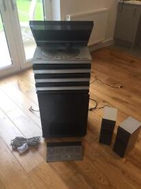 Bang & Olufsen - BeoSystem BeoMaster BeoVox, Stereo System plus Speakers and Remote Control