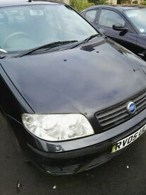 05 fiat active 4door in black