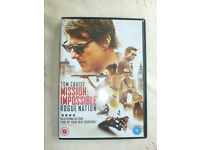 MISSION IMPOSSIBLE; ROGUE NATION DVD