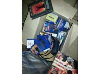 Amiga Comadore A-500 Plus. With box full of games and programmes