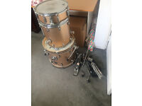 Gretsch Catalina Club Jazz Kit (Except for Mounted Tom) + Pearl Eliminator Pedal