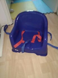 TODDLER BOOSTER TABLE SEAT