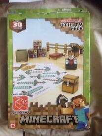 Minecraft paper craft overworld utility pack