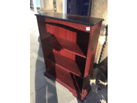 Mahogany Bookcase , in good condition . Size 114cm x 84cm. Free Local Delivery.