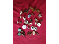 Vintage Cuff Links,Tie Pins