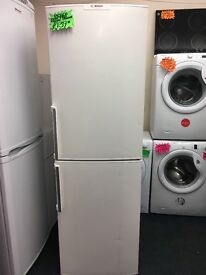 BOSCH FROST FREE FRIDGE FREEZER WITH HANDLES