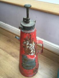 Vintage Extinguisher 1938