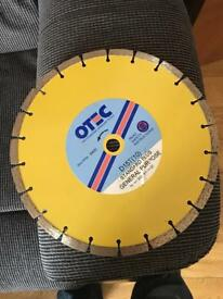 Otec 300mm D15T(10) concrete diamond cutting blades