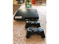 Great condition playstation 3 with 2 controllers