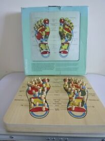 The Natural World Wooden Reflexology Foot Massager Mind And Body Relaxing BOARD