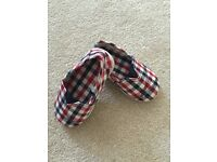 Baby boy shoes, size 3