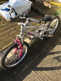 Girls bike Excellent would suit 7-8 year old