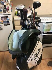 Mac Gregor golf clubs