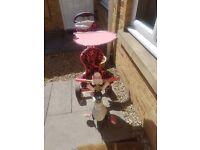 Pink trike