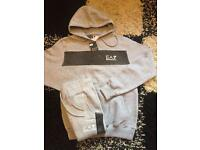 Mens EA7 pullover tracksuits in stock!! (MOES CLOTHING)!!