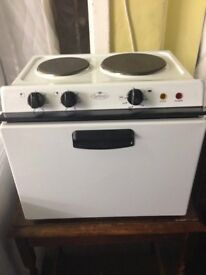 Baby belling table top cooker