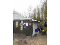 Barn Workshop Storage Office Unit 40ft x 10ft Tring Area Light and Power