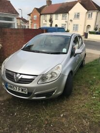 Vauxall corsa 1.2 16valve with built in bicycle rack mot until march 2018 mileage 73580