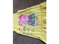 Peppa pig clothes bundle