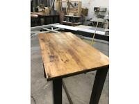 Tall tables for bar or coffee shop