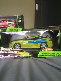 Fast and the furious 1:18 models