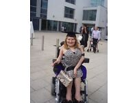 Graduate Part time PA/Carer to help assist a 32 year old physically disabled female PhD student!