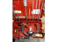 hilti 110volt hammer drill/breaker