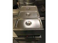 Dry wet Bain marie commercial catering resturant hotels pubs cafe catering equipments