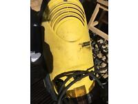 Faulty karcher 5/11c pressure washer spares or repairs with lance, hose and genuine dirt blaster