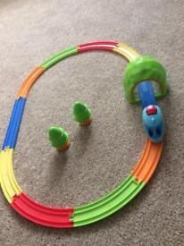 Tomy Train and Track, pull-back action train