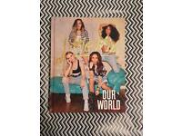 "Little Mix book ""Our World"" signed"