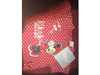 Disney top 0-3 months WITH TAGS