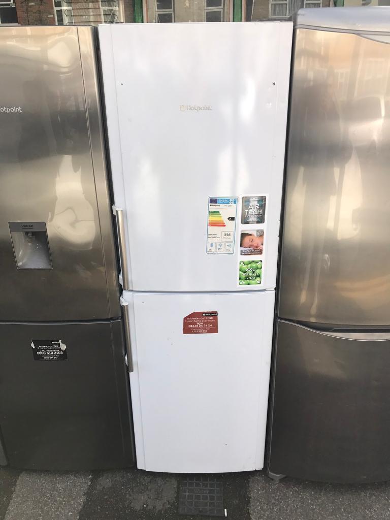 White hotpoint fridge freezer