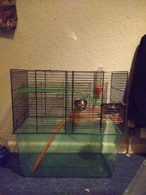 Hamster/gerbil cage