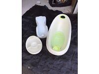 Baby Bath, Washing Bowl & Ergonimic Bath Support