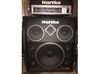 Hartke Bass Amp and Cab