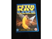 6 boxed Peter Kay dvds