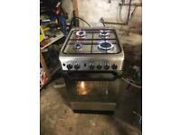 Indesit gas cooker Crome 50cm