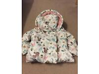 Girls Padded John Lewis Coat
