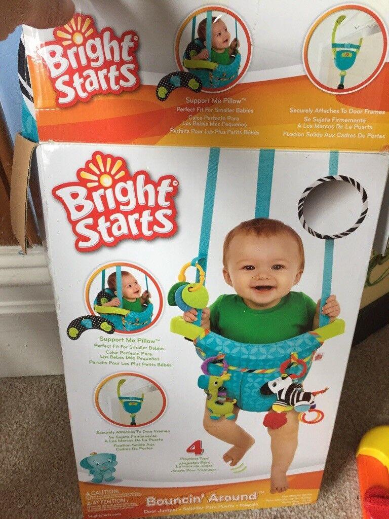 4a44cf5522ae Bright starts door bouncer - baby bouncer