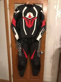 Motorcycle leathers - Nitro Male 2 piece
