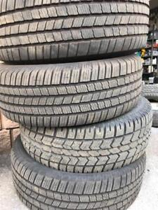 MICHELIN 265-70-17 all season like new tires | Install Available