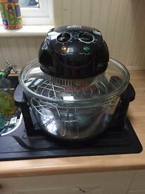 Halogen cooker.