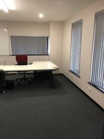 TO RENT - fantastic office space on outskirts of Crumlin town. Internet and printer access included